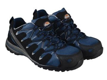 Tiber Safety Navy Trainers UK 9 EUR 43
